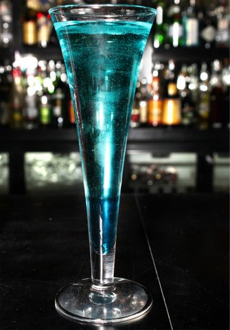 Blue Badge Style cocktail.