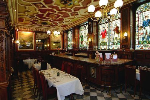 The Cafe Royal Bar Edinburgh Excellent Food But Poor