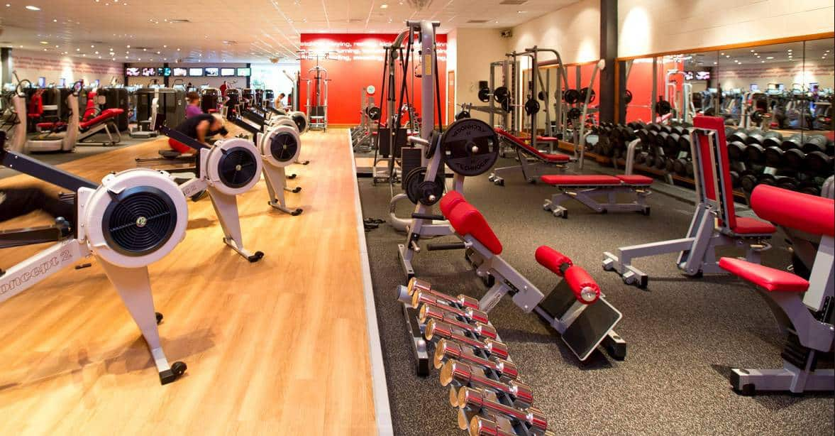 Disabled access in major gym chains better or worse than for Gimnasio fitness club