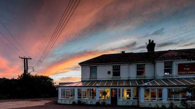 Will Multi Award Winning The Sportsman, Whitstable, Be Up For Best Restaurant At BBS Awards?