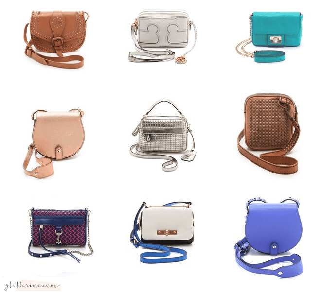 Mini Cross Body Bags & Purses - Great For The Wheelchair Fashionista !