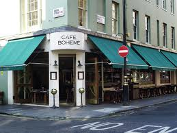 Cafe Boheme - Flat Access to Outside Seating and Interior Bar Area - Somewhere You Can Spy Soho In All It's Glory