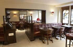 Cafe Boheme Dining Area Accessed by 2 Steps. However, Dr. No Disabled Toilet.