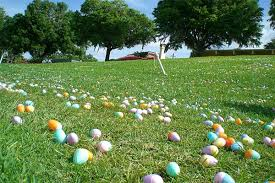 Happy Egg Hunting - Forget the Obesity Crisis for the Weekend