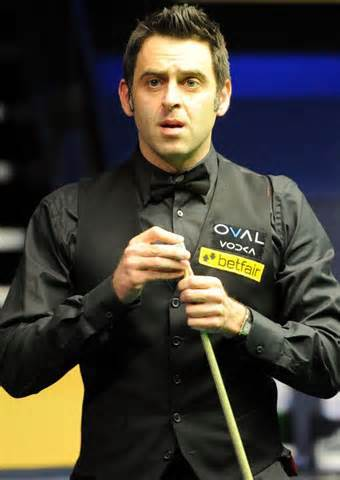 Ronnie O'Sullivan - odds on favourite to win the World Championship