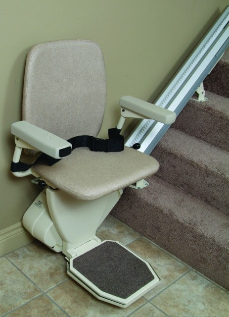 A classic stairlift - helpful but dull and ugly