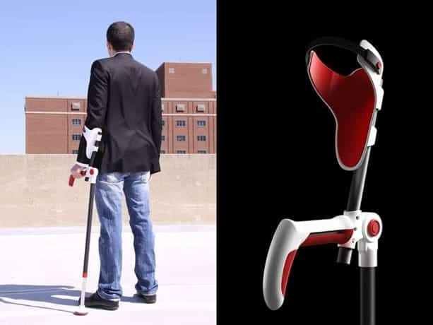 The Fulcrum Modern Crutch Design