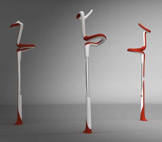 Flamingo Crutches