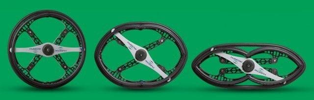 Morph Folding Wheels
