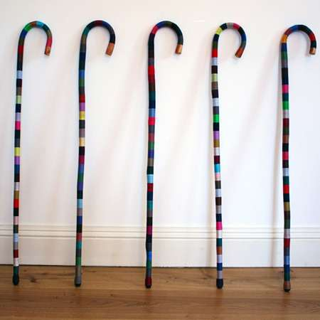 Multi Coloured Canes Threaded By Dominic Wilcox