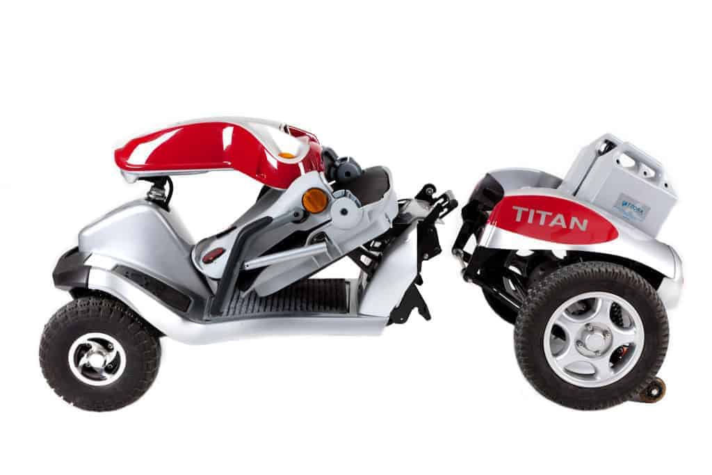 Tzora Scooter, Portable & Cool? Maybe. We'll get a closer look at NAIDEX 2015