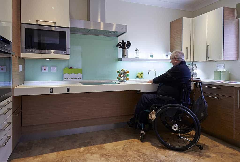 wheelchair accessible kitchen cabinets milan design week 2015 gives a nod to disabled kitchens 1243