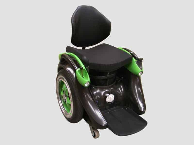 Ogo Wheelchair Built from a Segway in a Shed in New Zealand - Now That's Time Well Spent in a Shed!