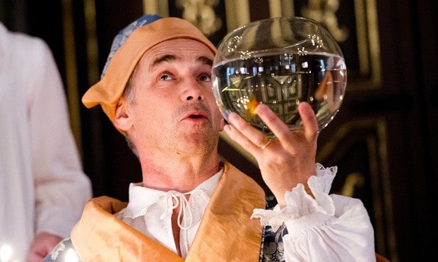 Mark Rylance as Phillip II of Spain Saved From Madness by the Voice of Farinelli - A Castrato