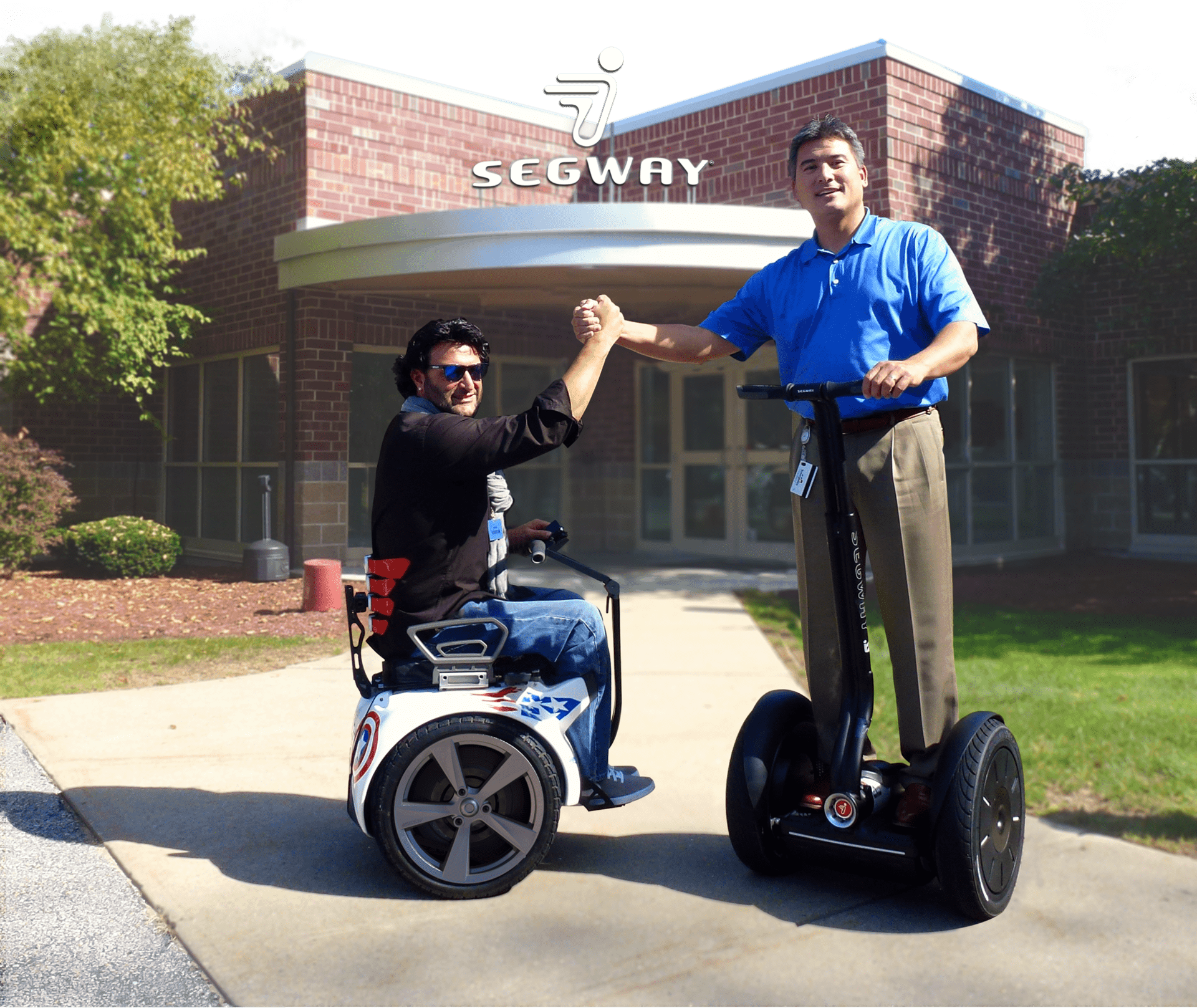 paolo with Mr segway