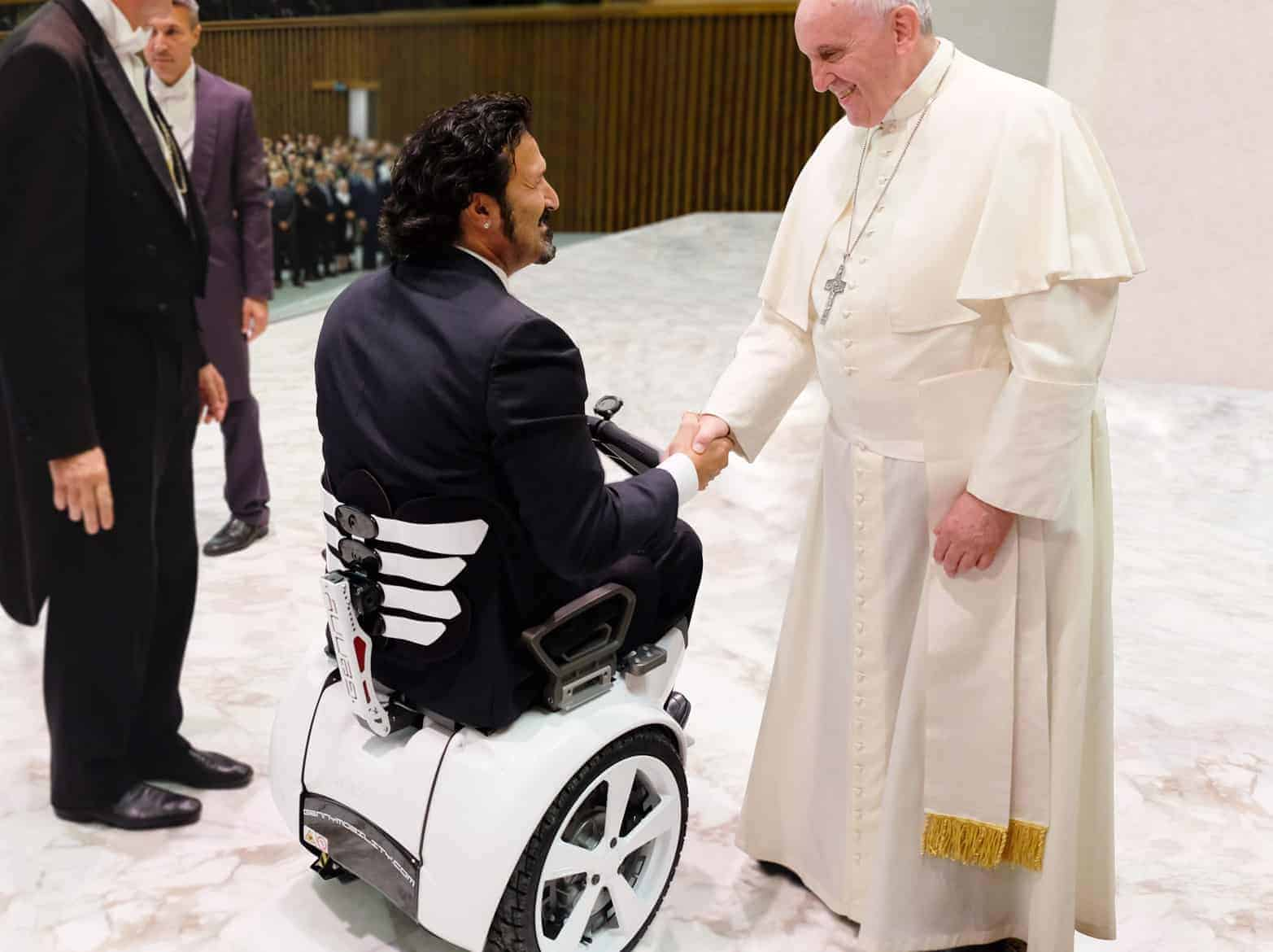 I'll Swap You For The Pope Mobile