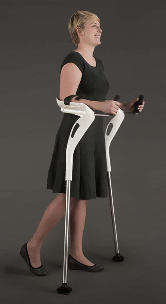 The M+D Crutch, Designed For Comfort & Ease of Use. Also Has a 21st Century 'Storm Trooper' Look ???