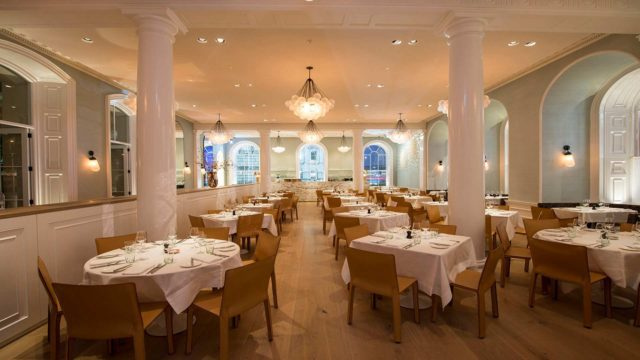 Spring Restaurant at Somerset House . Light, Bright, Accessible & Expensive - A Treat!