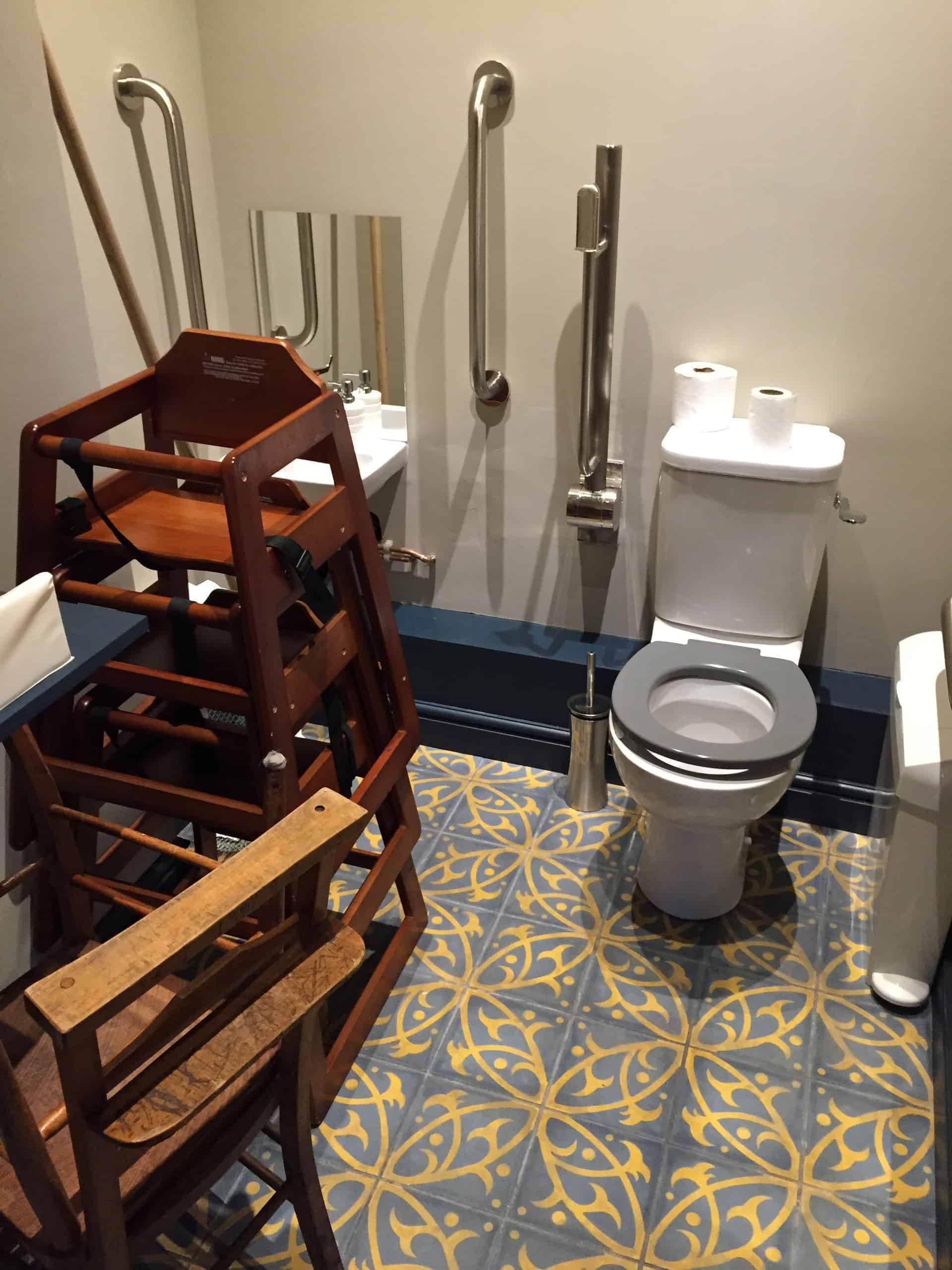 Guess what this won't win 'Best Disabled Loo'!