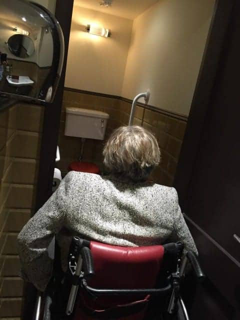 Murano Covent Garden Has a disabled Toilet But Forgot toMake The Door Wider For Wheelchairs
