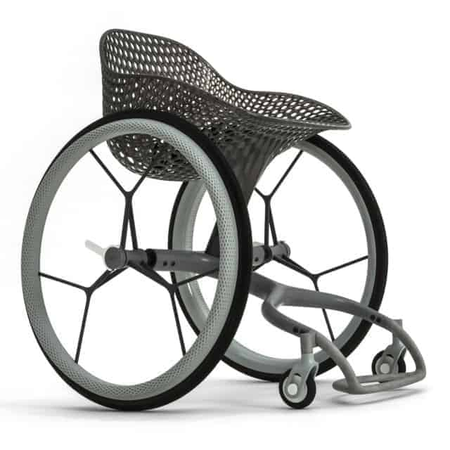 Go Wheelchair, a World 1st in 3D Printing