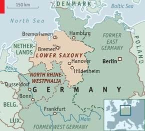Lower Saxony In N.W. Germany