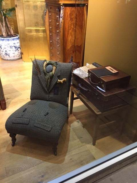Rhubarb London Re-Upholster Chairs With Old Suits. Now Their Attention Has Turned to Wheelchairs.....