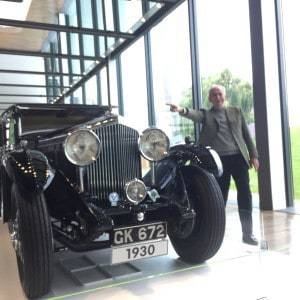 The 'Relative Lieutenant'/Petrol Head/Jeremy Clarkson Lookalike, Pointing Out That The Bentley Is A Mechanical Masterpiece With A 'Blah Blah Blah Engine'. I However Was Attracted To the Leather Interior & Sheer Class Of the Design.