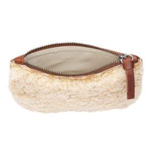 Real Sheepskin Pouch From Jigsaw Adds a Tactile Element to Your Outfit