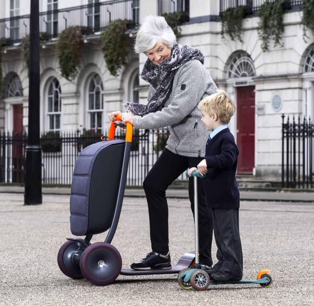 Scooter For Life - Takes You From Childhood To Old Age