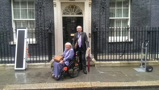 The 'Relative Lieutenant and Me at No. 10, Ramps at the Ready