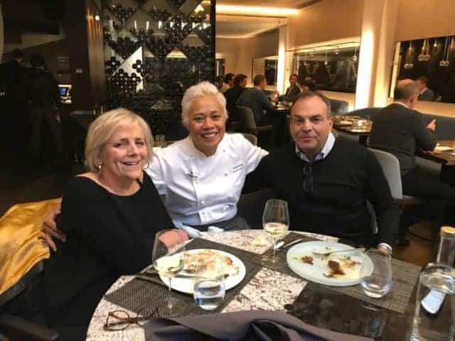 Me & The French Lieutenant Enjoying The Desserts and a Chat With The 'Inclusive' Monica Galetti.