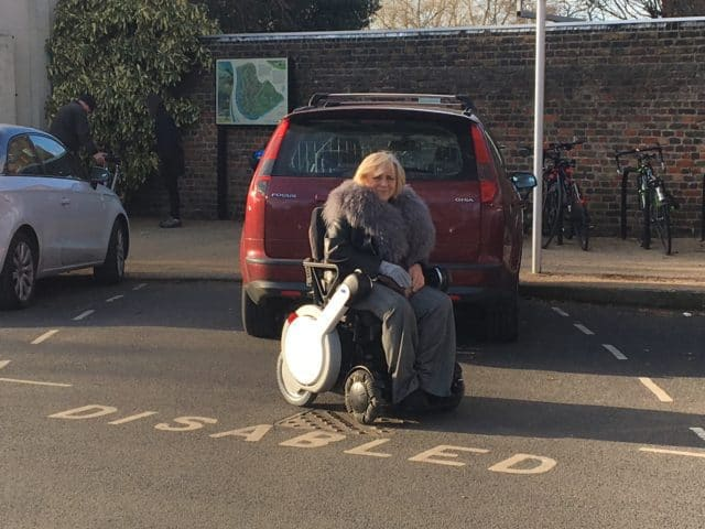 Easy Disabled Parking in WHILL