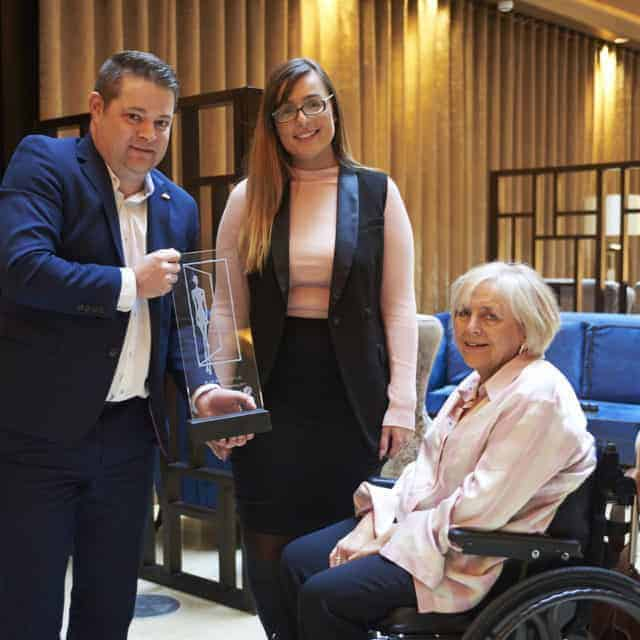 Dorsett Hotel, London Receiving Their BLADE For Exceptional Disabled Facilities With Style