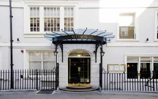 Kettner's Grade II Listed Facade Has 2 Steps From the Street. Flat Disabled Access is Next Door On The Left.