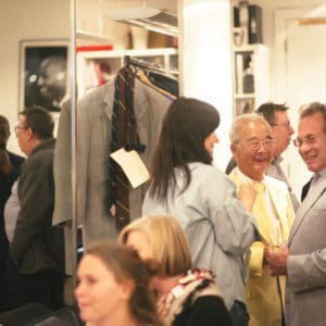 The Audience Mingled With Designers and Suits at Charlie Allen Bespoke