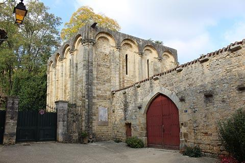 The historic abbey was founded by Charlemagne
