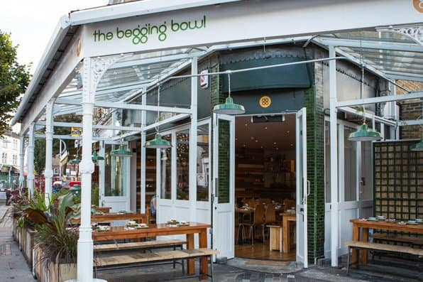 Accessible Double Doors at Begging Bowl in Peckham's Trendy Bellenden Road