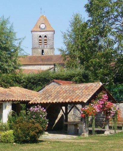 Local attractions: a view of the church from old well