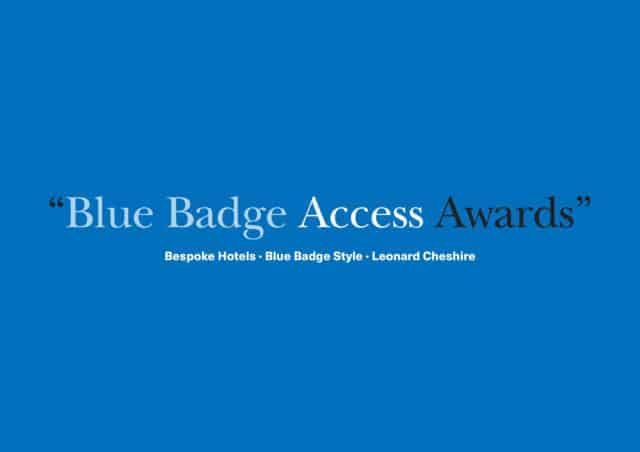 Blue Badge Access Awards in Partnership With Leonard Cheshire & Bespoke Access. Rewarding Exceptional Accessibility Worldwide & Nominations for 2019 Open Now!