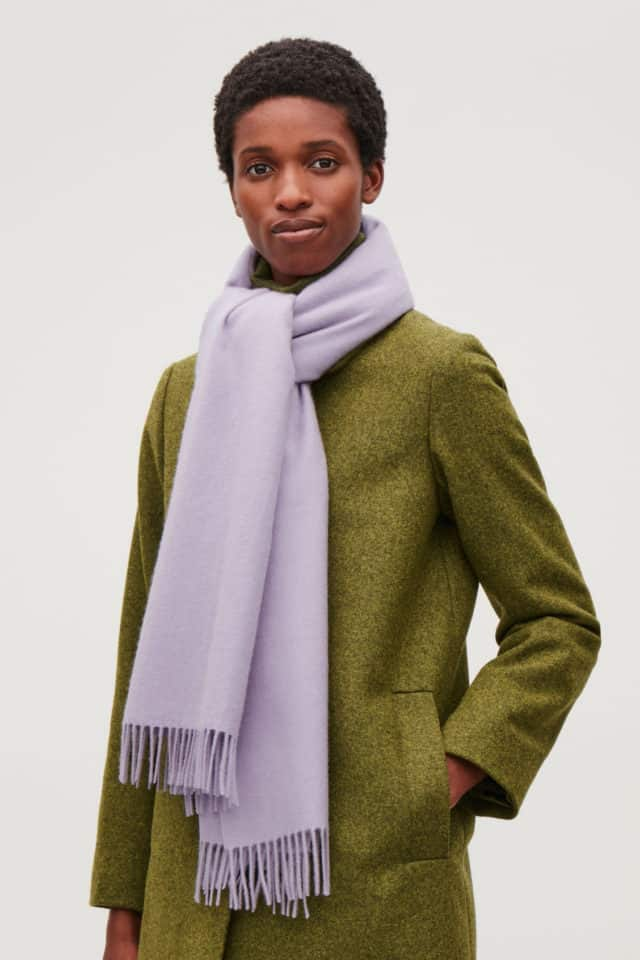 Wool Cashmere, Long, Scarf From Cos, is a Touch of Luxury to Keep You Warm