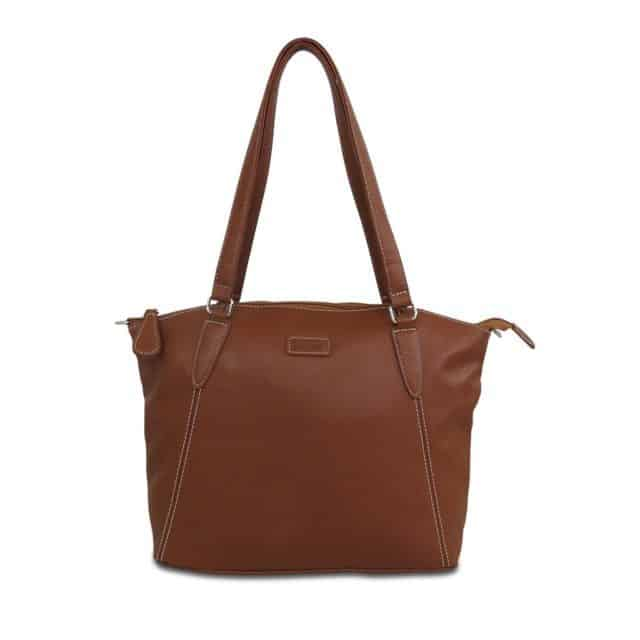 Samantha Bag From Mia Tui in Faux Leather, Chestnut £40