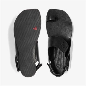 Kolhapuri sandal for Men & Women is Leather With Velcro Straps £80/Pair