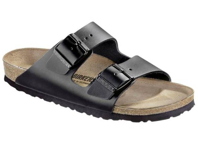Birkenstock Arizona Has a Skin Friendly Synthetic Upper & Their Trademark Wide Foot Bed With adjustable straps. £55/pair