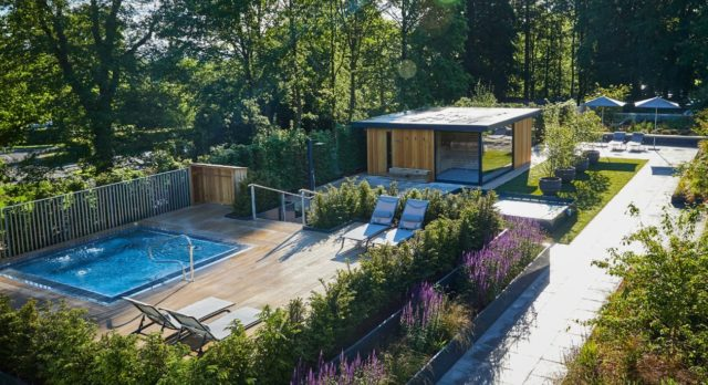 Rudding Park Roof Top Spa & Garden, Fully Accessible ,Along With The Hotel.