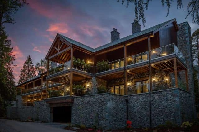 The Langdale in the Lake District is a New Breed of Trendy Hotels in a Beautiful Setting