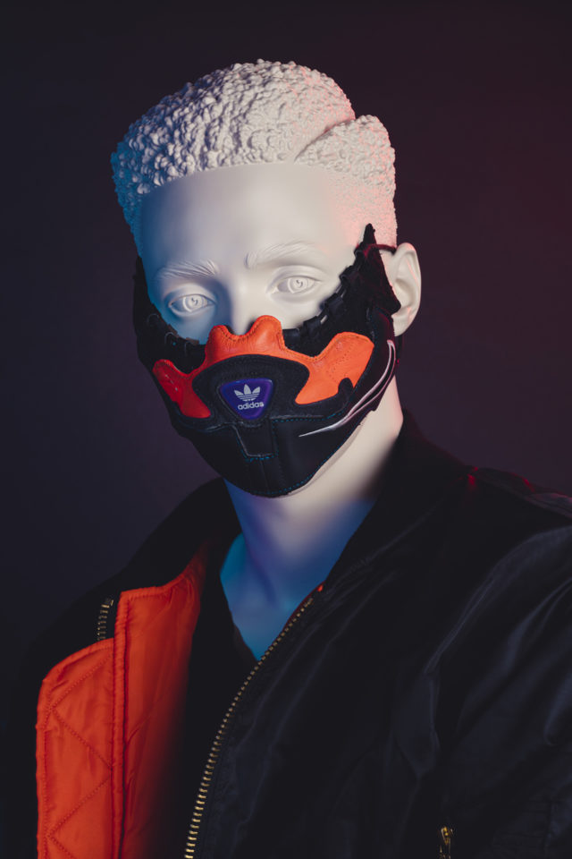 The Re-Used Sneaker Mask Expresses Who You are