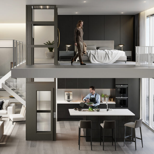 Connecting The Floors & Generations With a Household Lift