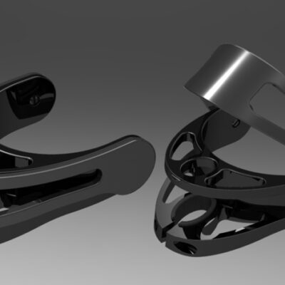Open/Closed Cuff for INDESmed Crutches