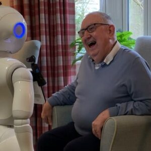 A Robot Won't Replace Human Contact But When That's Not Available Pepper Can Talk or Entertain to Keep Loneliness at Bay